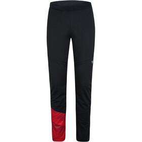 Ziener Nataniel Active Pants Men, negro/rojo